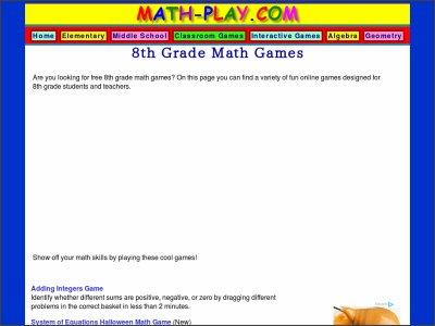 http://www.math-play.com/8th-grade-math-games.html